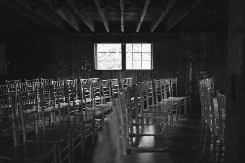 Barn - Chair Setup - Pointe D'Vine